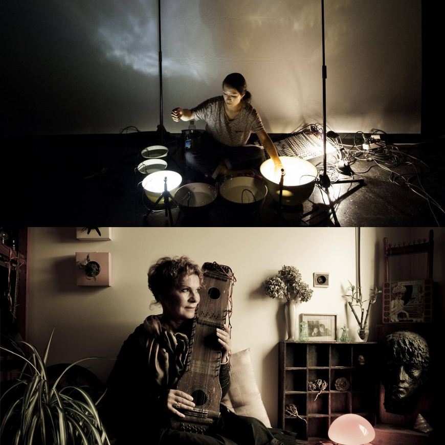 Tomoko Sauvage & Emmanuelle Parrenin